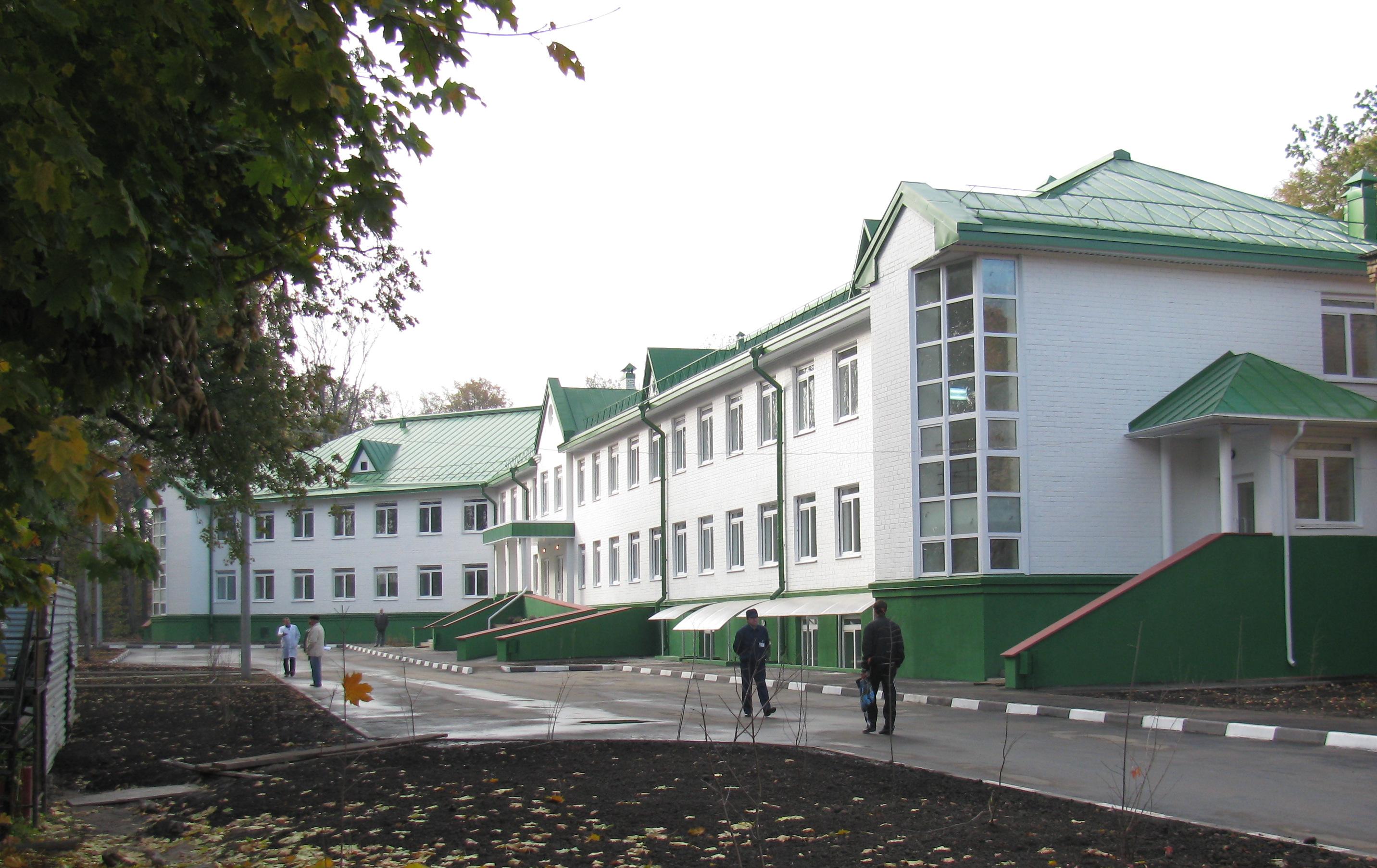 План корпусов 1 городской больницы минск